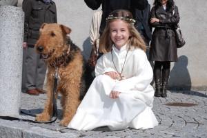 11. April 2011 Zwei Erstkommunikanten :-)