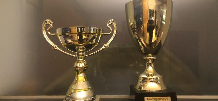 3. Platz Vereinsmeisterschaft